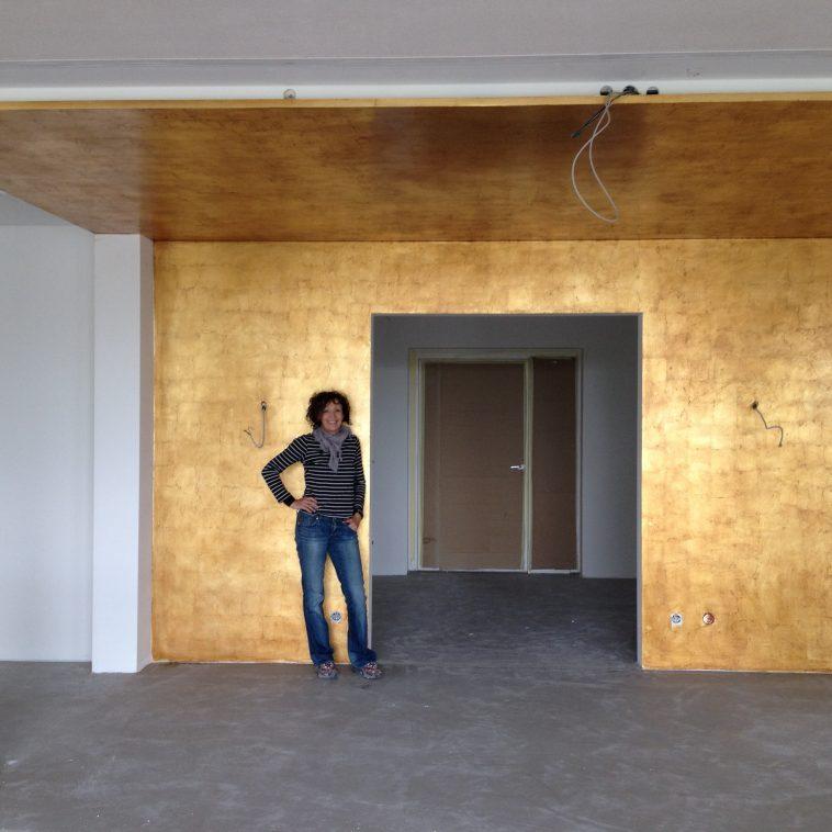 Wandgestaltung Die Vergolderei